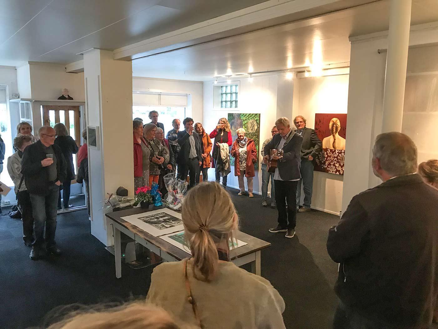 Utstillingsåpning 8. september 2017 med Kohler og Petershagen