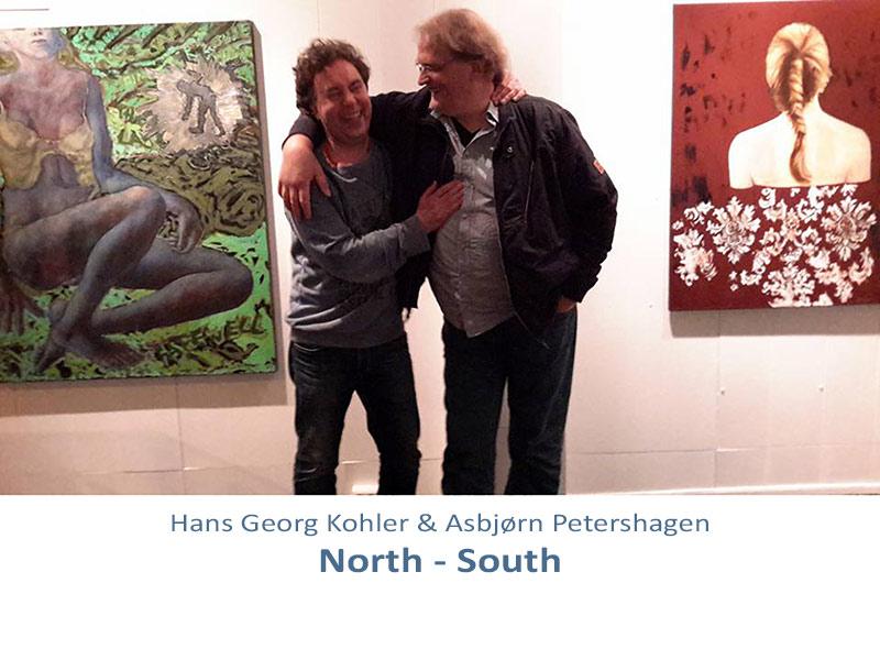 Utstilling med Kohler og Petershagen